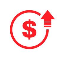 Cost Symbol Dollar Increase Ic...