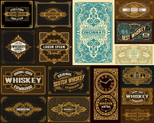 Pack Of 16 Vintage Designs For...