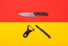 Kitchen Knife And Peeler Are I...