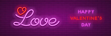Neon Love Design