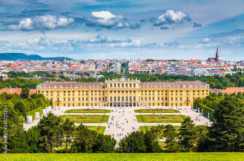 mata magnetyczna Schonbrunn Palace, Vienna, Austria
