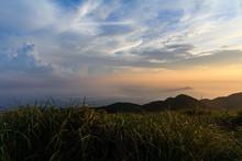 Datunshan Sunset Yangmingshan Mountains