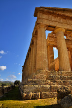 The Valley Of The Temples Is An Archaeological Site In Agrigento, Sicily, Italy.
