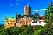 Wartburg Castle In Eisenach, Thuringia, Germany