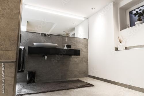 Modernes Badezimmer Klein Luxurios Modern Mit Freistehendem