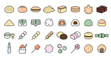 Japanese Desserts And Sweets I...