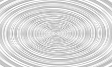 Vector Illustration Of The Pattern Of Gray Spiral Lines On White Background. EPS10.