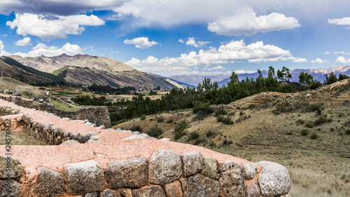 Keuken foto achterwand Rudnes Inca ruins in the foothills of the Andes
