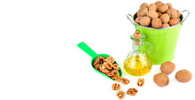 Oil Of Walnut And Nut Fruit Is...