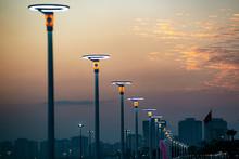Lighting Equipment In Street, ...