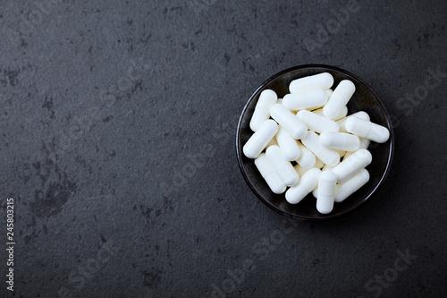 Fotografia  Creatine capsules