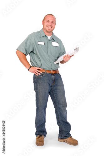 Fotomural  Serviceman