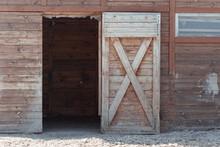 An Open Door To The Barn