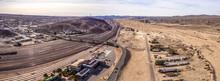 Barstow Kalifornien Schienen Bahnhof Zukverkehr Railroad Museum