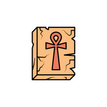 Ankh, Relief, Cross, Egyptian ...