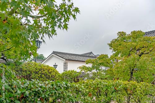 Foto op Canvas Asia land 倉敷美観地区の風景