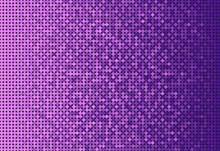 Banner Purple Sequin Glitter Sparkle Or Paillette.
