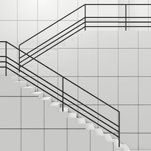 Details Of Railing And Stairs ...