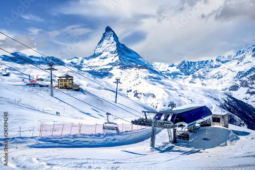 Gornergrat, Matterhorn, Switzerland Canvas Print
