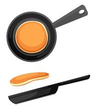 Flying Pancakes And Frying Pan...