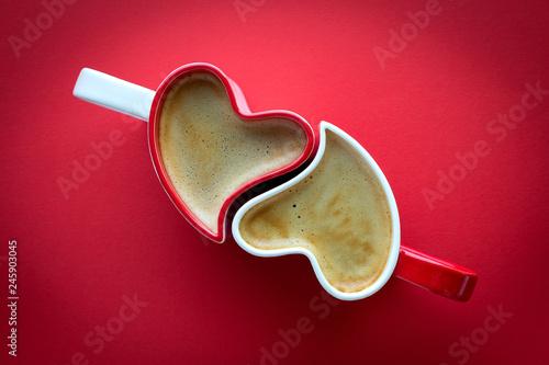 Stampa su Tela Walentynkowa kawa