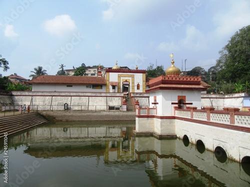 Tempel in Madikeri in den Bergen von Kodagu / Südindien