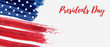 USA Presidents Day holiday background