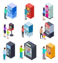 Isometric Vending Machine And ...
