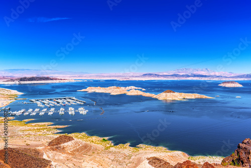 Lake Mead National Recreation Area. Canvas Print