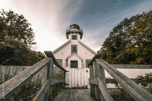 Fotografie, Obraz  Mission Point Lighthouse
