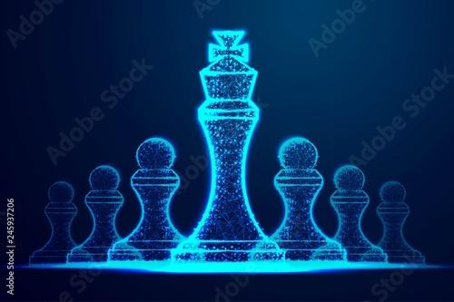 Fotografie, Obraz  Leader success concept