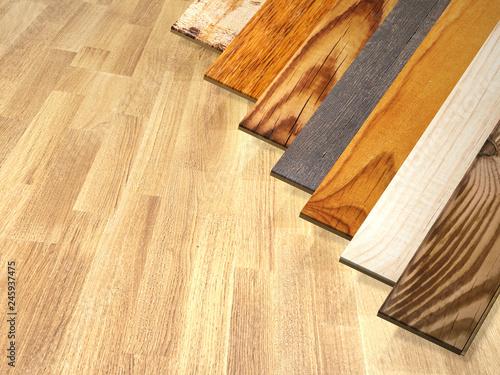 Fototapeta New planks of parquet obraz na płótnie