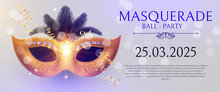 Masquerafe Flyer Template With...