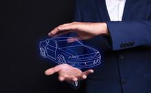Businessman Transportation Illustration