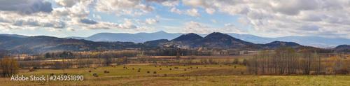 Fototapeta Mountains Rudawy Janowickie, Sudety Mountains, around Jelenia Góra, Poland, Lower Silesia, Karkonosze obraz