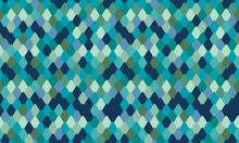 Snake Skin Texture Print Design. Seamless Pattern With Navy Blue Snakeskin,  Animal Print Seamless Background