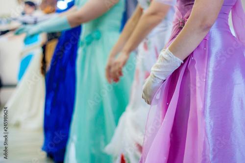 Foto op Canvas Magische wereld the dance is a historic reception