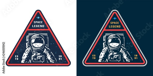 Tela Colorful space label