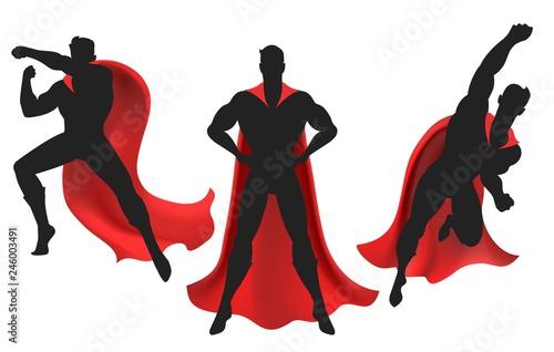 Fotografía Superhero silhouette