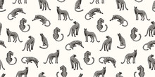 Seamless Exotic Pattern With A...