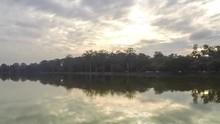 Brilliant Colors Of Sunset Over Buffalo Lake