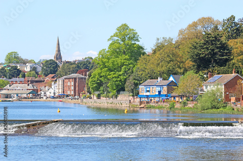 Photo  Exeter by the River Exe, Devon