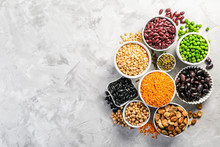 Selection Of Legumes - Beans, ...