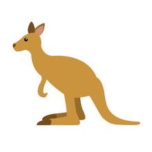 Kangaroo Emoji Vector