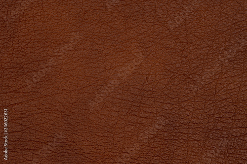 Keuken foto achterwand Leder Close-up brown leather texture to background