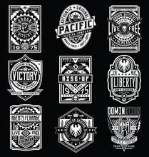 Vintage Poster / Emblem / T-shirt Design Vector Set