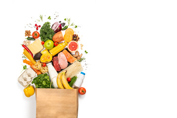 Grocery shopping concept - ...