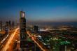 Dubai skyline rooftop 2019, United arabic emirates
