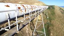 Water Pipeline On Pipe Bridge ...