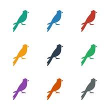 Sparrow Icon White Background